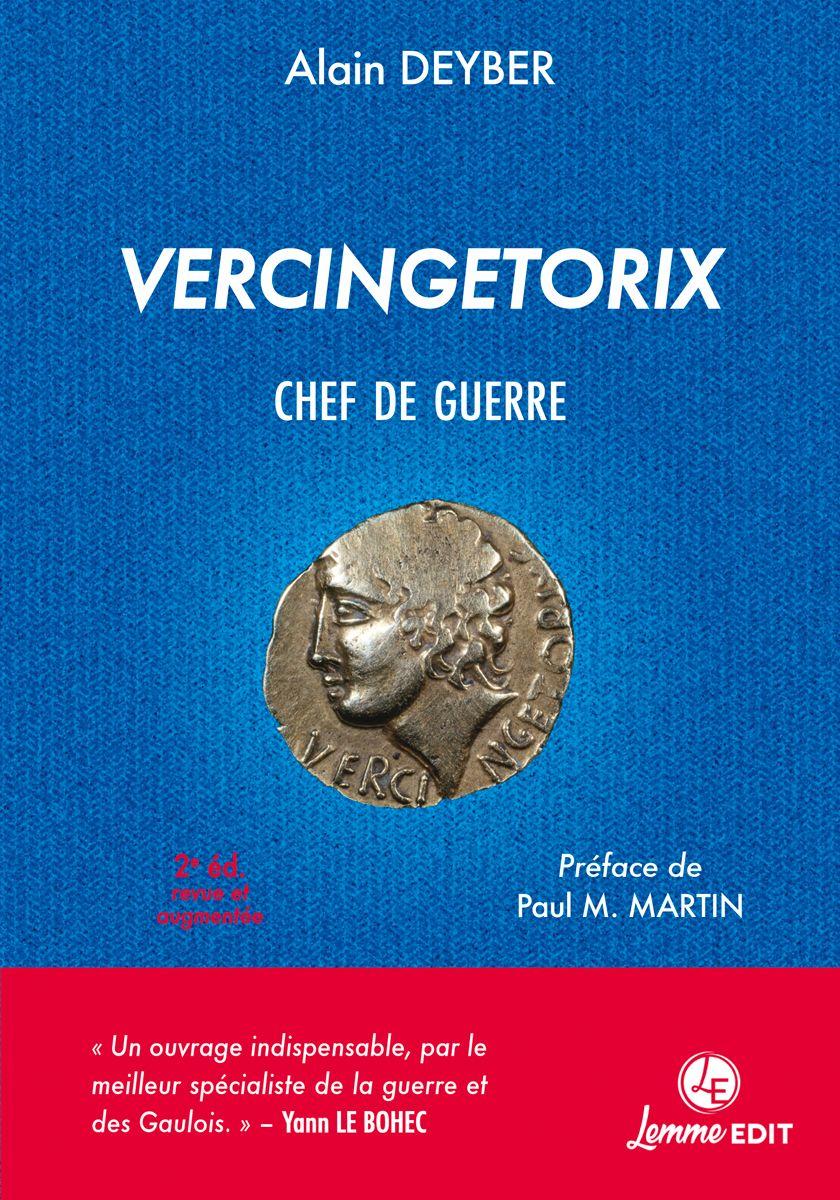 Couverture Vercingetorix chef de guerre (2e éd.) Alain Deyber