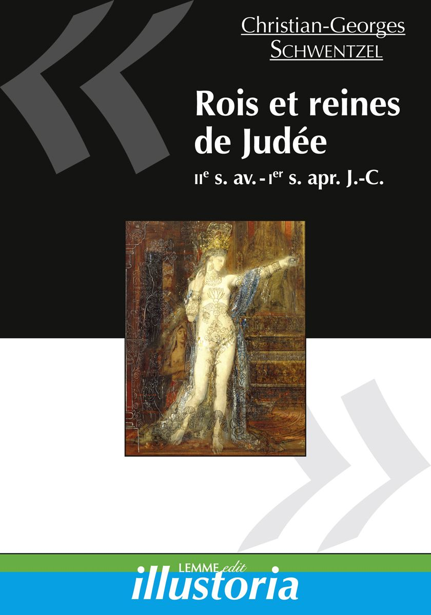 Couverture Rois et reines de Judée Christian-Georges Schwentzel