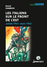 Couverture Les Italiens sur le front de l'Est David Zambon