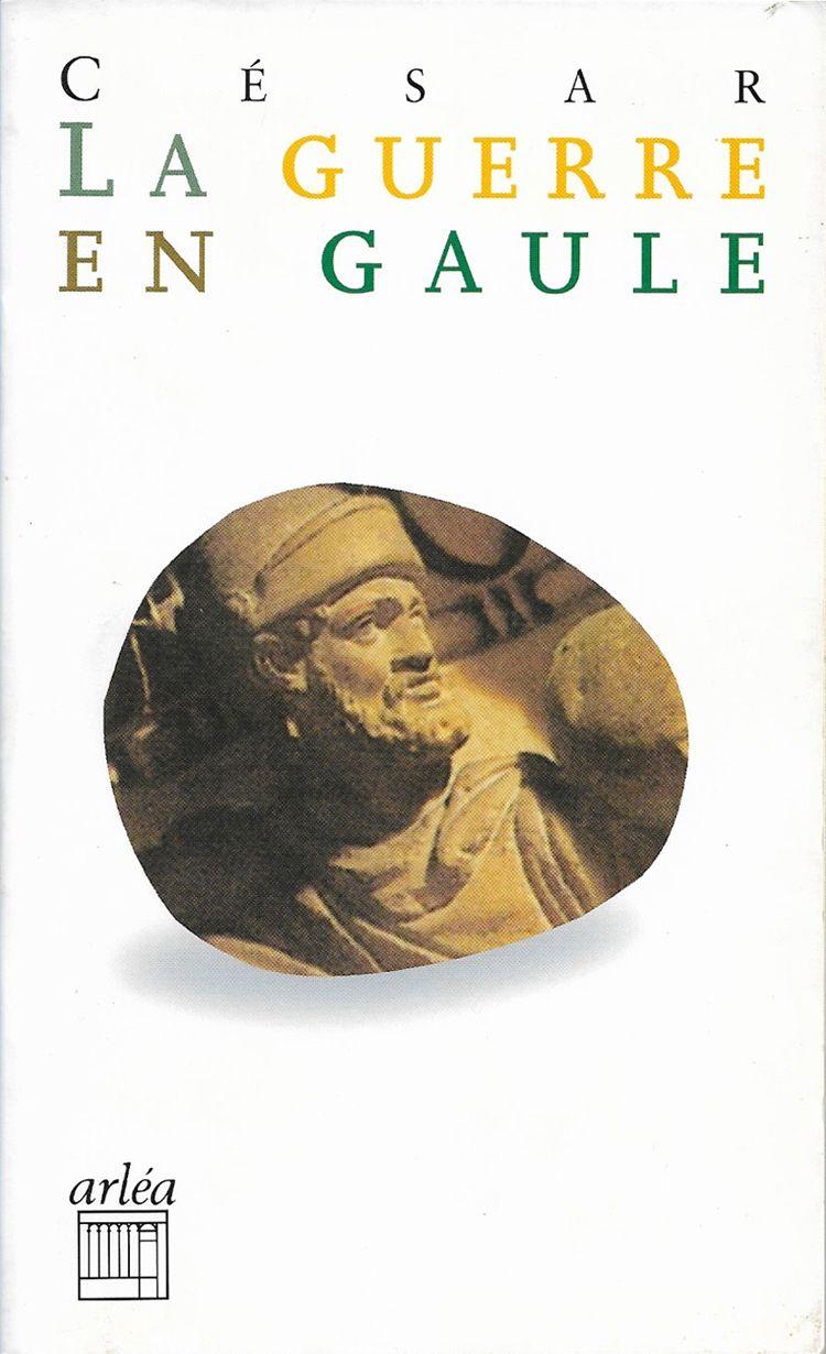 Couverture La guerre en Gaule Jules César