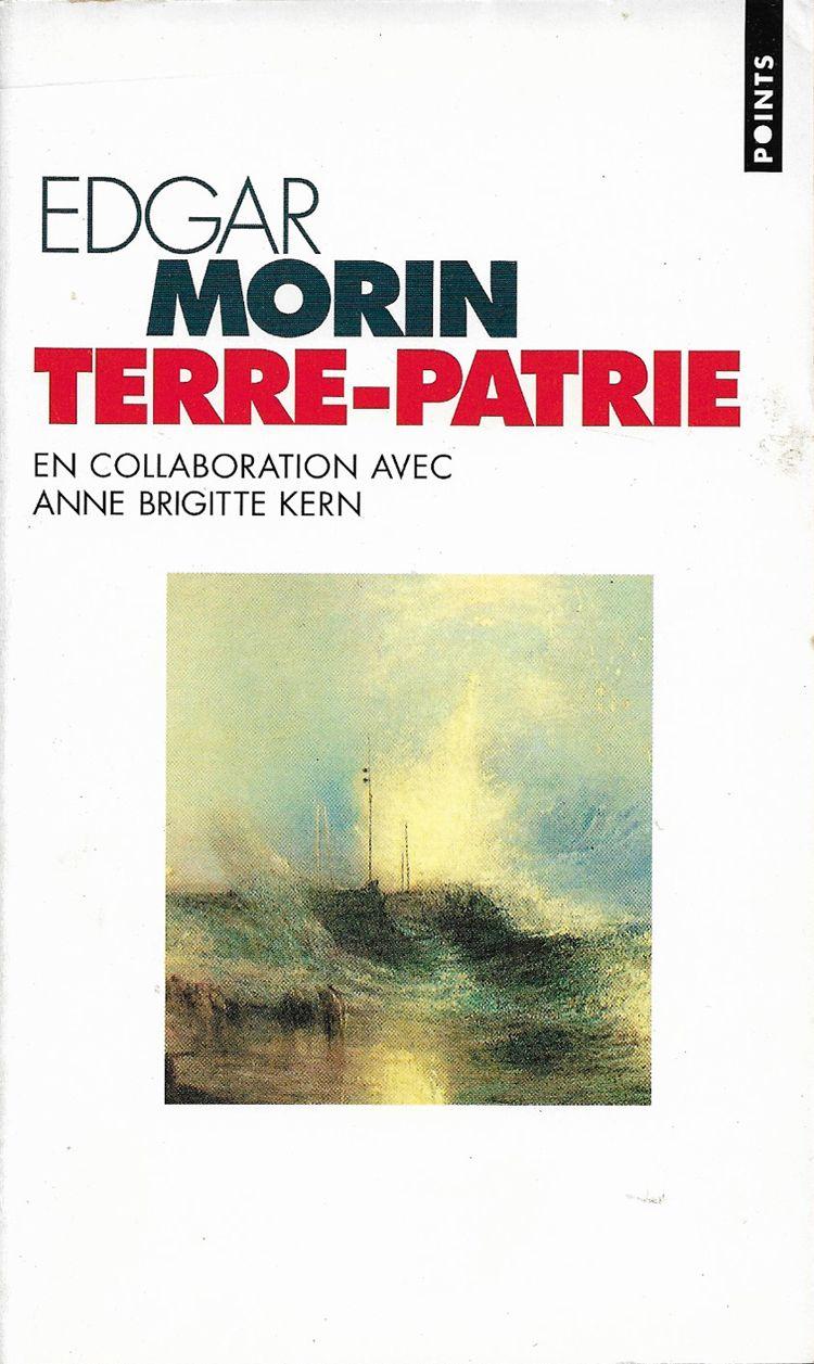 Couverture Terre-Patrie Edgard Morin