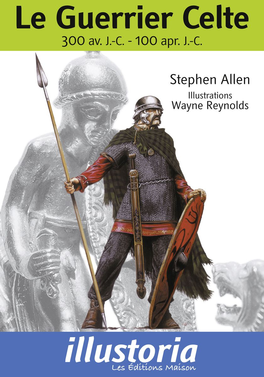 Couverture Le guerrier celte Stephen Allen