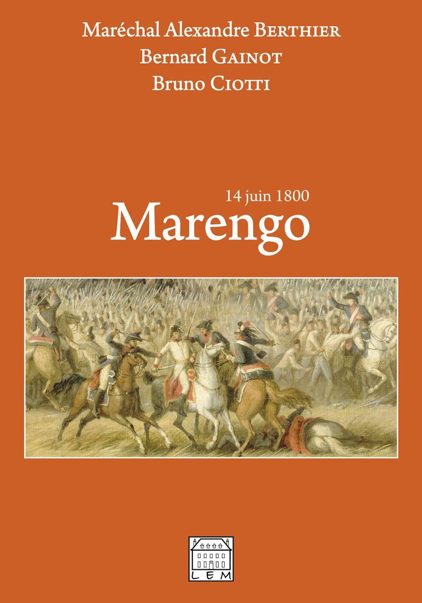 Couverture Marengo Alexandre Berthier