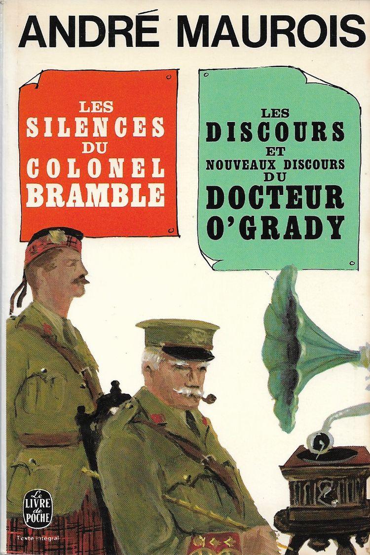 Couverture Colonel Bramble André Maurois