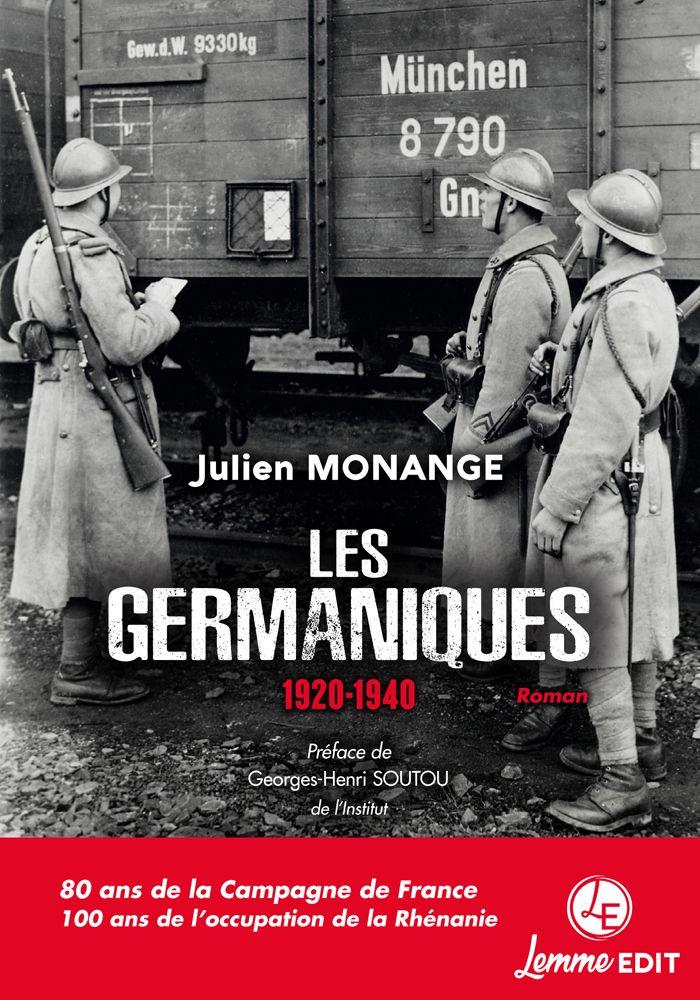 Couverture Les Germaniques Julien Monange