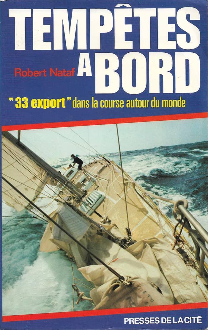 Couverture Tempêtes à bord Robert Nataf