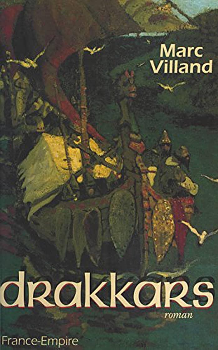 Couverture Drakkars Marc Villand