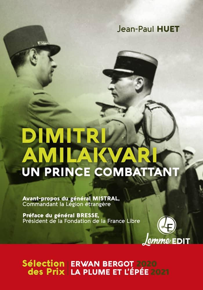 Couverture Dimitri Amillakvari, un prince combattant (2e éd.) Jean-Paul Huet